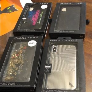 Kendall & Kylie iPhone X phone cases